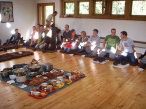 מפגש משפחות במרכז זן