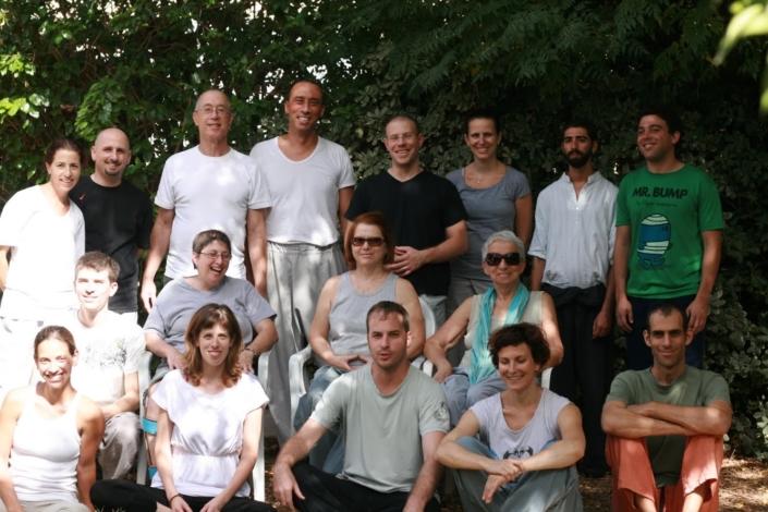 תמונה קבוצתית בסוף ריטריט