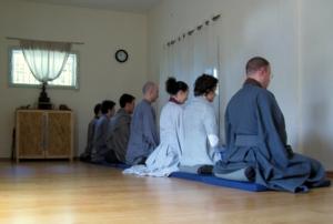 מדיטציה בישיבה זן
